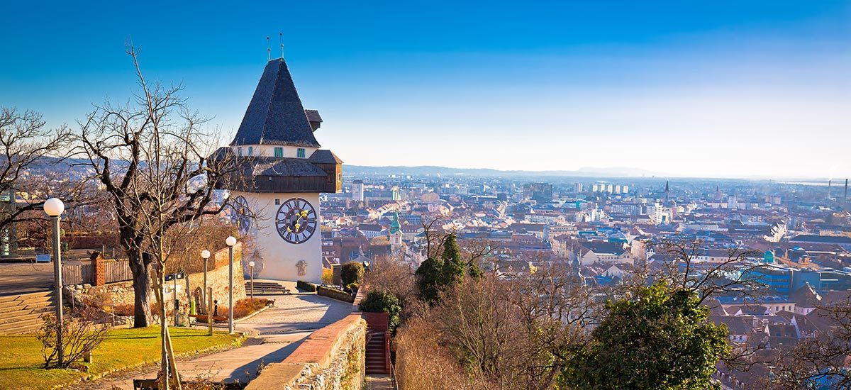 Stadt Graz, Ausflugsziel in der Steiermark
