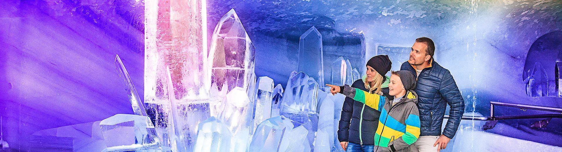 Dachstein-Gletscher, Ausflugsziel in der Steiermark