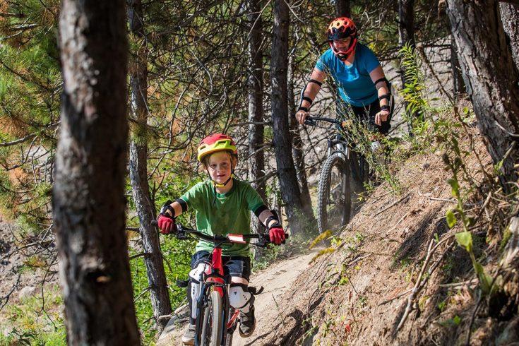 Downhill-Strecke, Alpine Lodge auf der Reiteralm