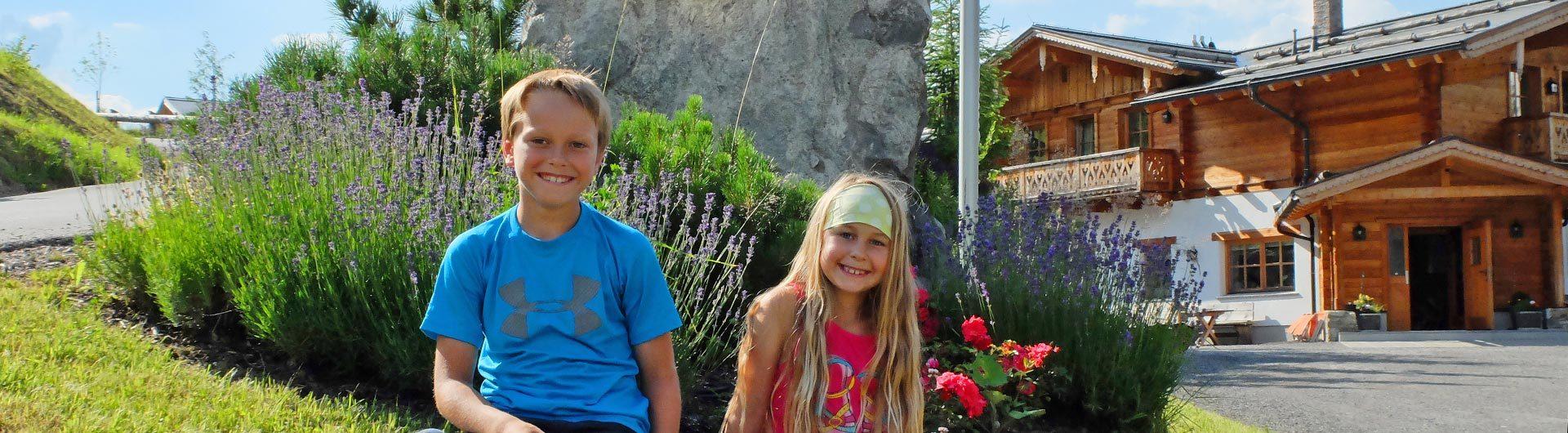 Familienurlaub Reiteralm Alpine Lodge 1