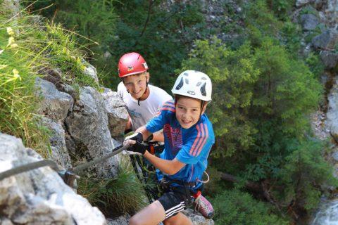 Klettern, Sommerurlaub in der Urlaubsregion Schladming-Dachstein