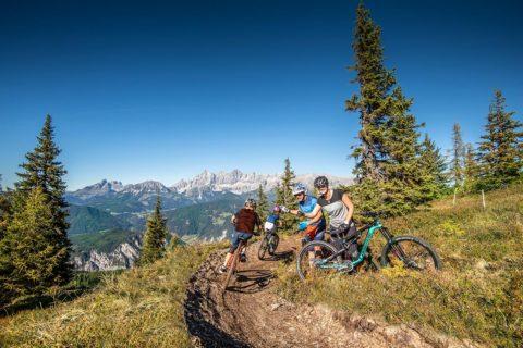 Mountainbiken, Sommerurlaub auf der Reiteralm