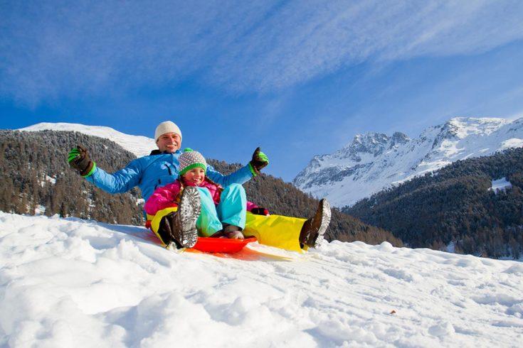 Rodeln - Winterurlaub auf der Reiteralm, Pichl-Schladming