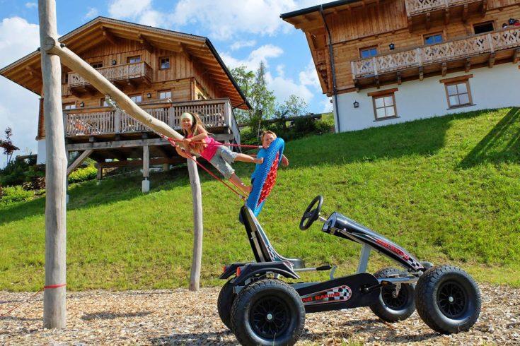 Spielplatz, Alpine Lodge auf der Reiteralm